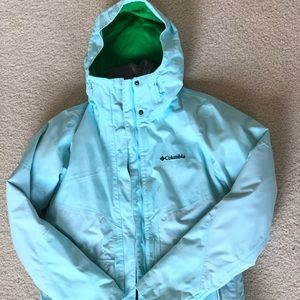 Columbia jacket for outdoor snow suit